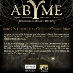 Abyme, le guide de la cité des ombres